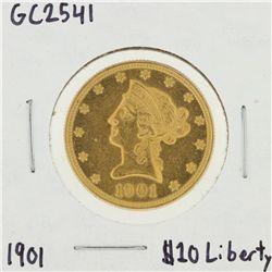 1901 $10 Liberty Head Eagle Gold Coin GC2541