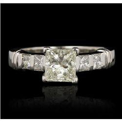 Platinum 2.26ctw Diamond Ring GB4296