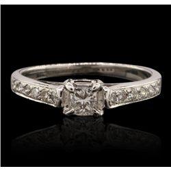 14KT White Gold 0.50ctw Diamond Ring GB4776