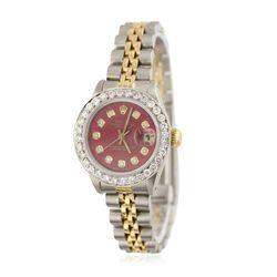 Ladies Rolex Two-Tone Date Just Wristwatch GB4897