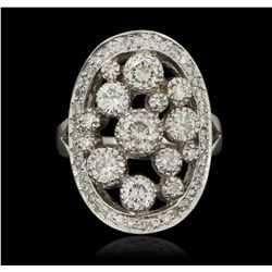 14KT White Gold 2.00ctw Ring A6275