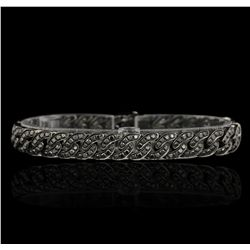 18KT Black Gold 8.00ctw Diamond Bracelet GB4599
