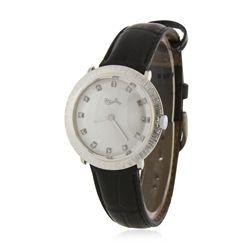 14KT White Gold Ladies Lucien Piccard Wristwatch GB3433