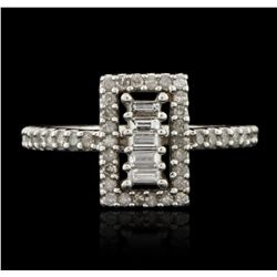 10KT White Gold 0.50ctw Diamond Ring GB2930