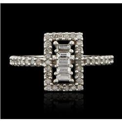 10KT White Gold 0.50ctw Diamond Ring GB2930