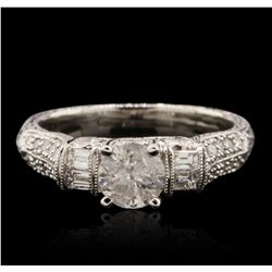 18KT White Gold 1.11ctw Diamond Ring RM1818