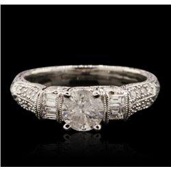 18KT White Gold 1.11ctw Diamond Ring RM1818