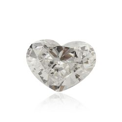GIA Certified 0.52ct I-1/E Heart Brilliant Cut Loose Diamond GB4271