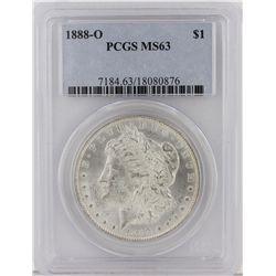 1888-O Morgan Silver Dollar PCGS Graded MS63 SCE1096