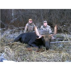 Late Season Moose Hunt with Double Eagle Outfitters