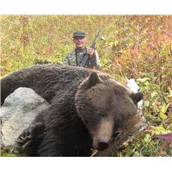 Grizzly Bear Hunt with Fehr Game Outfitters