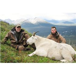 Backpack Mountain Goat Hunt with Claw Mountain Outfitters