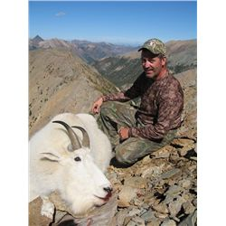 Goat, Black Bear and Wolf Hunt with Finlay River Outfitters