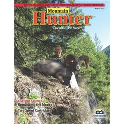 Mountain Hunter™ Advertising - Inside Front Cover