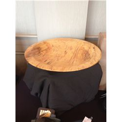 Carved Maple Bowl by Guy Scott, Riverman Enterprises