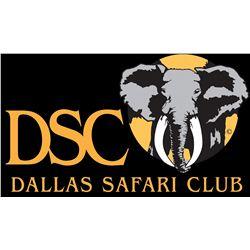 Booth for Dallas Safari Club Show, January 15-18, 2014
