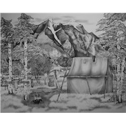 """Artist of the Year Entry - Madison Drinkall - """"Home in the Mountains"""""""