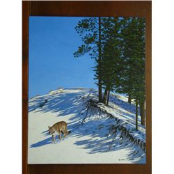 """Artist of the Year Entry - John DeJong - """"On the Prowl"""""""