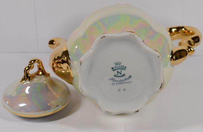 Vintage German Cocoa/Tea Set