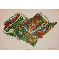 Malcolm Morley, Parrot Jungle, Signed Lithograph