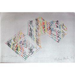 Malcolm Morley, Miami Silver, Signed Lithograph