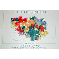 Signed Ronald J. Christensen Poster