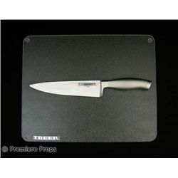Southland Tales Serpentine's Treer Kitchen Knife and Cutting Board