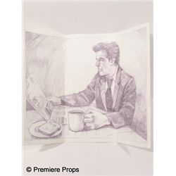 Remember Me Caroline (Ruby Jerins) Sketch of Dad (Pierce Brosnan)