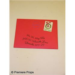 How the Grinch Stole Christmas Who Envelopes Prop