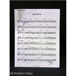 Charlie Bartlett Piano Sheet Music Prop