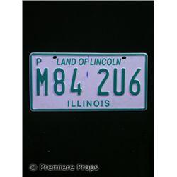 Halloween 2 Illinois License Plate Prop