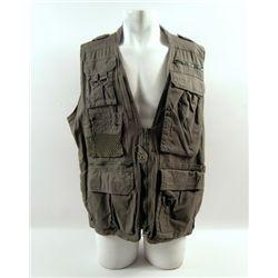Transcendence Joseph (Morgan Freeman) Screen Worn Vest Movie Costumes
