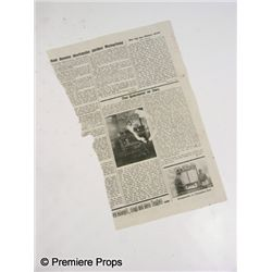 Inglourious Basterds Newspaper Prop