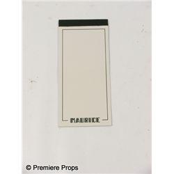 Inglourious Basterds Maurice's Restaurant Paper