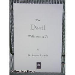 Halloween 2 The Devil Walks Among Us Book Prop
