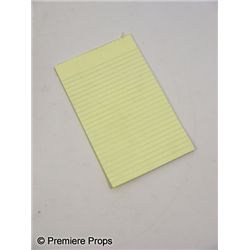 50/50 Kyle (Seth Rogen) Notepad Movie Props
