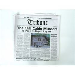 "Scary Movie 5 ""Tribune"" Newspaper Movie Props"