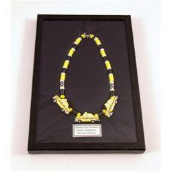 Gloria Vanderbilt Custom Famous New York Taxi Necklace