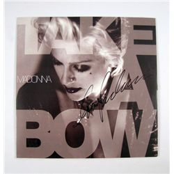 Madonna Signed Take A Bow Dance Mix Album
