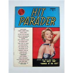 Marilyn Monroe Hit Parade Original Magazine January 1953