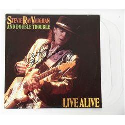Stevie Ray Vaughan Signed Album