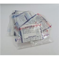 Transcendence Max Waters (Paul Bettany) Evidence Bags Movie Props