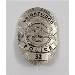 Transcendence Brightwood Police Badge Movie Props