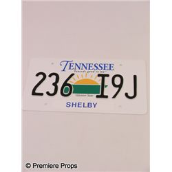 The Blind Side Tennessee License Plates Prop