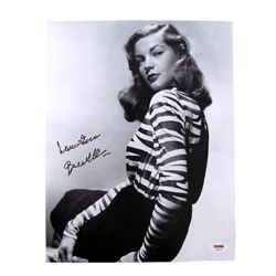 Lauren Bacall Autographed Photo