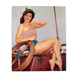 1st Mate Printer's Proof Litho Pinup
