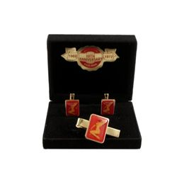 Marilyn Monroe 10th Anniversary Death  Golden Dreams Cuff Links & Tie Pin