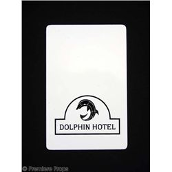 1408 Dolphin Hotel Room Card Movie Props