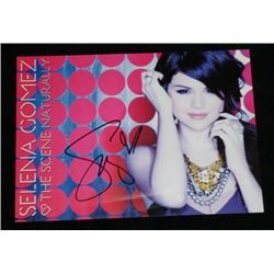 Selena Gomez Autographed Promo Card Movie Props