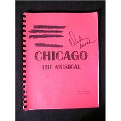 Debra Monk Autographed Chicago Script Movie Props